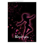 Dance With Me Retro Sweet 16 Thank You Cards