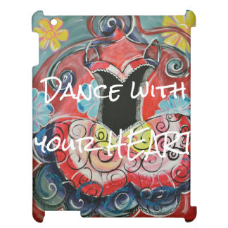 dance with your heart iPad case