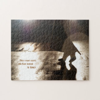Dance Without a Partner Jigsaw Puzzle