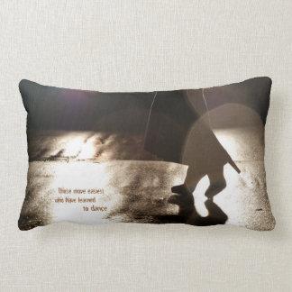 Dance Without a Partner Lumbar Pillow