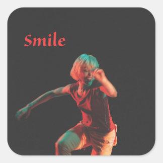 Dance Your Verbs - Smile Sticker