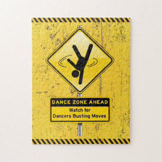 Dance Zone Ahead-Watch for Dancers Busting Moves! Puzzle