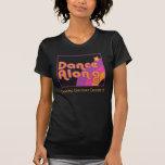 DanceAlong on rainbow T-shirt