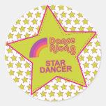 dancealong_star_dancer_stickersheet etiquetas redondas