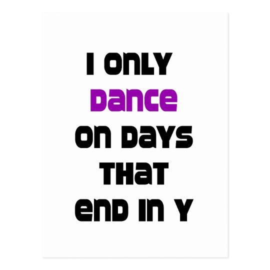 DanceChick Days Postcard