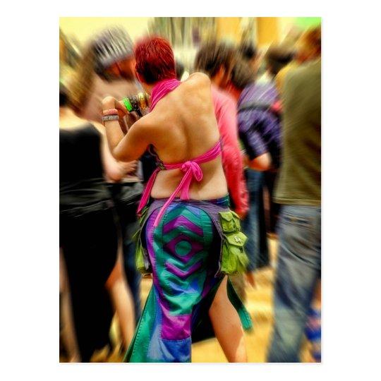 Dancefloor Glimpses Postcard