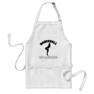 dancehall dance designs adult apron