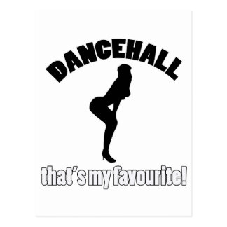 dancehall dance designs postcards