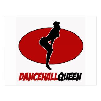 dancehall DANCE DESIGNS Postcard