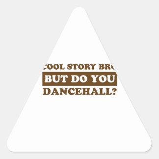 dancehall dance designs triangle sticker