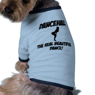 dancehall dance pet tshirt