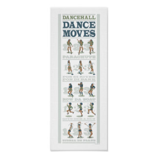 Dancehall Dance Moves Poster