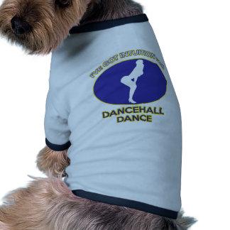 dancehall design dog tee shirt