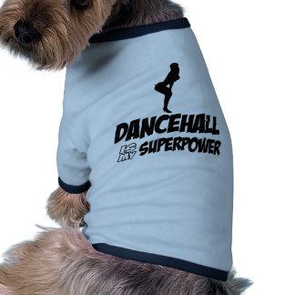 Dancehall designs dog shirt