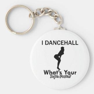 Dancehall designs basic round button keychain