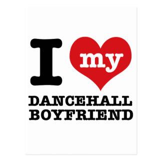 Dancehall designs post cards