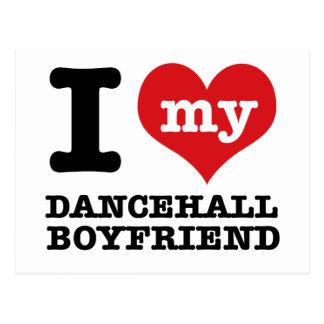 Dancehall designs post card