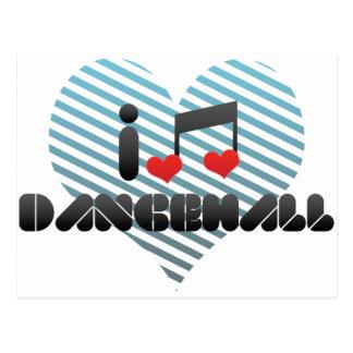 Dancehall fan post cards