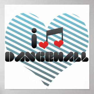 Dancehall fan print