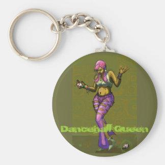 Dancehall Queen Keychain