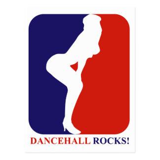dancehall  rock postcard