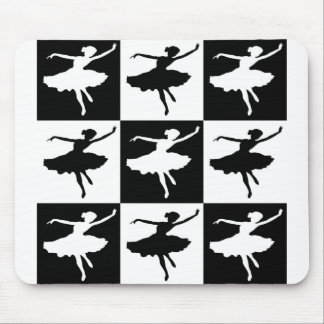 Dancer1 Checkered Mouse Pad