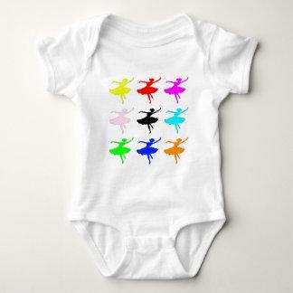 Dancer1 Collage Baby Bodysuit