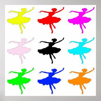 Dancer1 Collage Poster