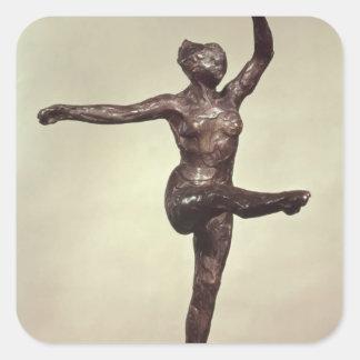 Dancer, 1883 square sticker