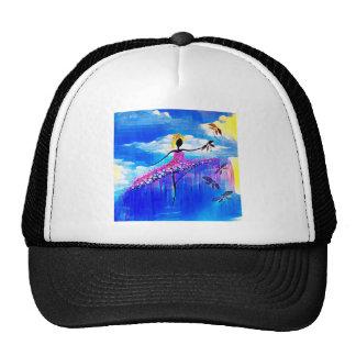 DANCER AND DRAGONFLIES 31 TRUCKER HAT