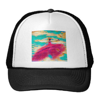 DANCER AND DRAGONFLIES 35 TRUCKER HAT