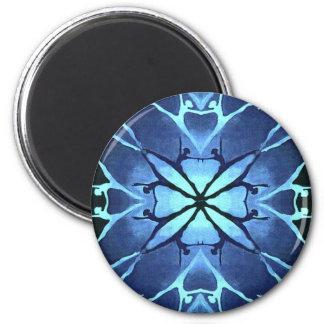 Dancer (Aqua) 2 Inch Round Magnet