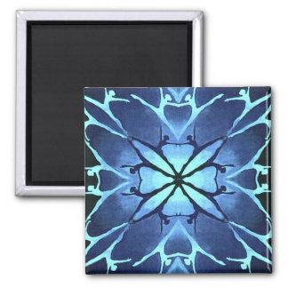Dancer (Aqua) 2 Inch Square Magnet