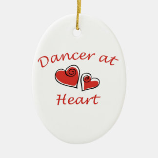 Dancer at Heart Ceramic Ornament