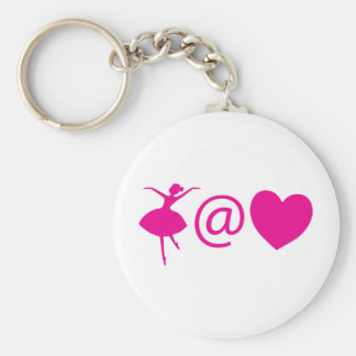 Dancer At Heart Keychain