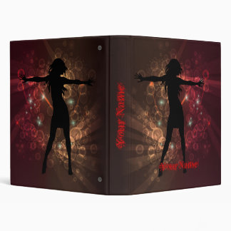 Dancer Binder with Your Name