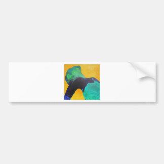 Dancer. Bumper Sticker