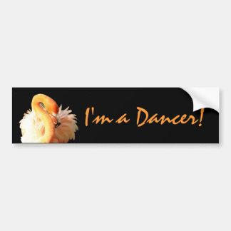 Dancer Car Bumper Sticker