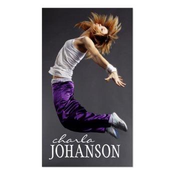 DANCER BUSINESS CARD profilecard