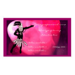 dancer Double-Sided standard business cards (Pack of 100)