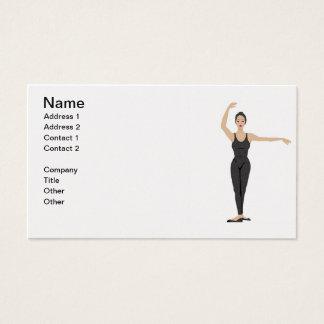 Dancer Business Card in Pearl Finish
