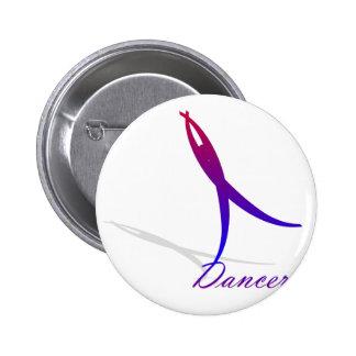 Dancer 2 Inch Round Button
