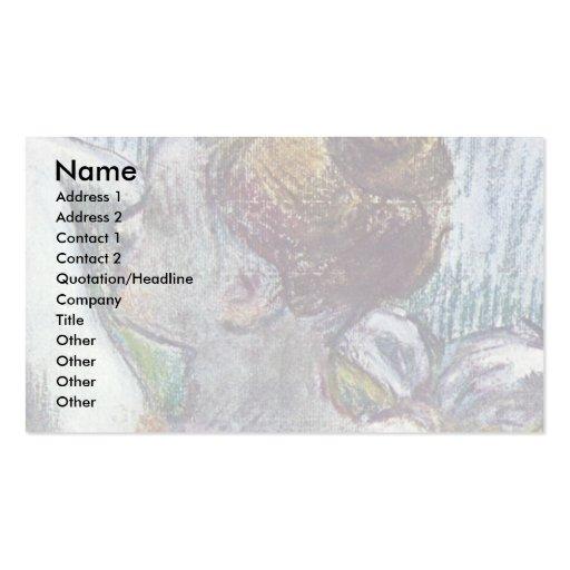 Dancer By Edgar Degas Business Card