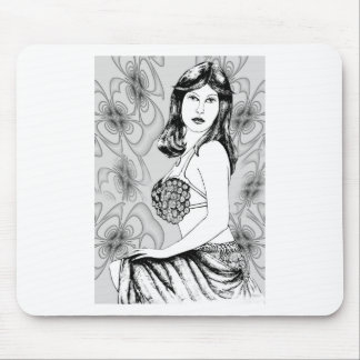 """Dancer"" by Lewis Evans Mouse Pad"