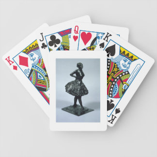 Dancer, c.1896-1911 (bronze) bicycle playing cards