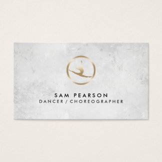 Dancer Choreographer Dancer Icon Business Card