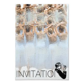 Dancer Classic Ballet Oper Festival Invitation