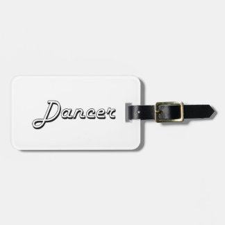 Dancer Classic Job Design Tags For Luggage