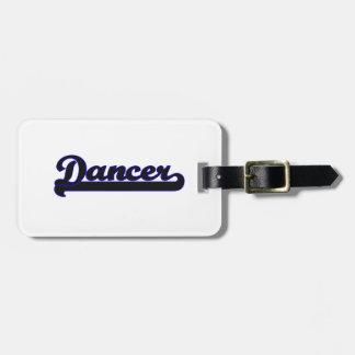Dancer Classic Job Design Bag Tags
