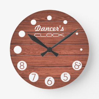 Dancer clock with numbers for a Dancer's.